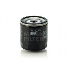 Фильтр масляный MANN-FILTER W 712/83