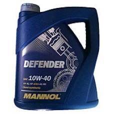 Масло моторное Mannol Defender 10W40 4 литра