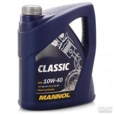 Масло моторное Mannol CLASSIC 10W-40 5 литров