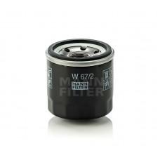 Фильтр масляный MANN-FILTER W 67/2
