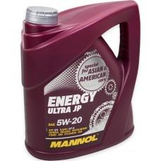 Масло моторное Mannol ENERGY ULTRA JP 5W-20 4 литра