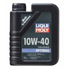 Масло моторное Liqui Moly Optimal 10w-40 1 литр